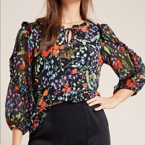 Anthropologie - Maeve Jacquin Pleasant Blouse